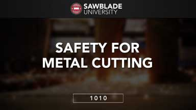 Safety For Metal Cutting